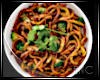 .LO MEIN FOOD DISH.