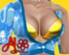 Gold Bikini Cloud Shrug