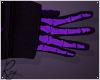 Purple Skelly Gloves