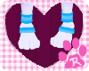 |Kimi| -Paw Cuffs Bloo