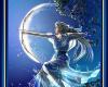 Painting Goddess Artemis