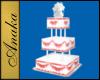 Wedding Cake Square 1