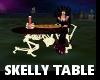 KP skeleton table redtop