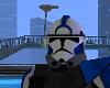 Blue CloneCommander Helm