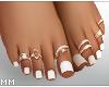 Beach Feet - White