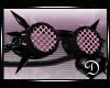{D} PVC Goggles PINK