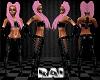 {RAI} Pink&Blonde braids