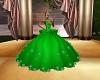 Green Ball Gown
