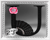 ~2T~ U  Black Pink Rose