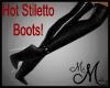 MM~ High Calf-Skin Boots