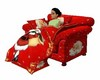 Santa  Blanket  Chair