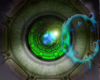 *c* Robotic Green Eyes