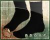 B| Simple black socks