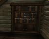 Romantic Winter Bookcase