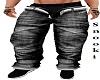 Open Black Jeans