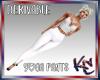 KC White Yoga Pants