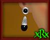 Vintage Onyx Earrings S