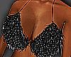 Shiny Black Bikini Top