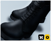 Biker Boots Black 3D