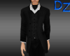 Suit with Black Ascot