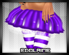 E~ X-mas Skirt Purple