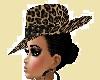 leopard   style hat