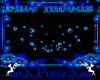 blue moods chandelier