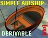 [aba] Wooden Airship