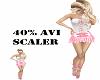 40% Avatar Scaler m/f