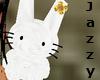 (Jazzy)W Bunny/G flower