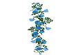 Blue Climbing Rose Vine