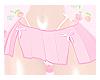 pinku bows skirt!♡