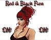 !DM! Red & Black Fien