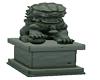 Komainu Statue