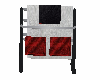 salon towel rack