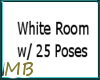 [MB] White Room W/Poses