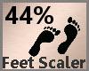 Feet Scaler 44% F