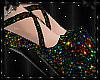 Sparkle Heels Rainbow