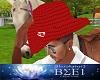 Cowboy Hat Canada Red M