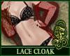 Lace Cloak Red