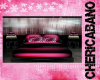 Pink Zebra Bed