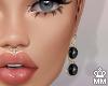 BossLady - Earrings - Bk