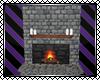 *E Stone Fireplace