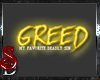 *SD*Greed Sticker