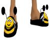 SLIPPERS FUN BEE MALE