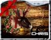 Christmas Wall Reindeer