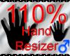 *M* Hand Scaler 110%