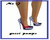 blue gucci pumps