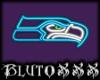 !B! Seahawks Neon Sign