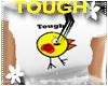 *S* Tough Chick White